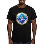 USS BEARSS Men's Fitted T-Shirt (dark)