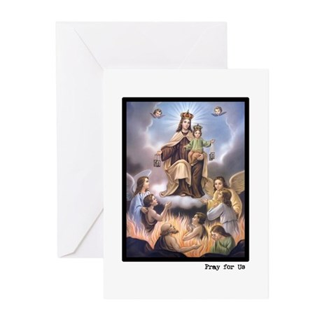 Souls in Purgatory Greeting Cards (Pk of 10)