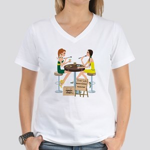 Oregon Sushi Girls Women's V-Neck T-Shirt