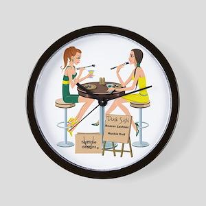 Oregon Sushi Girls Wall Clock