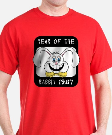 1987 Year of The Rabbit 1987 T-Shirt