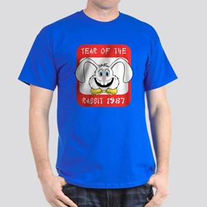 1987 Year of The Rabbit 1987 Dark T-Shirt