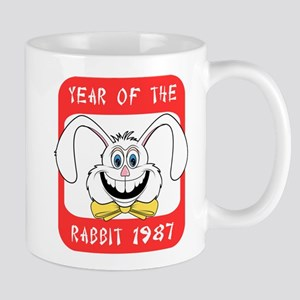 1987 Year of The Rabbit 1987 Mug