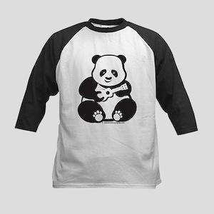 Ukulele Panda Solo Lt Kids Baseball Jersey