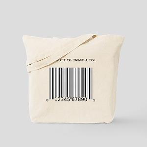 Traithlon Barcode Tote Bag