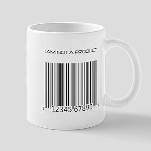 I Am Not A Product Barcode Mug
