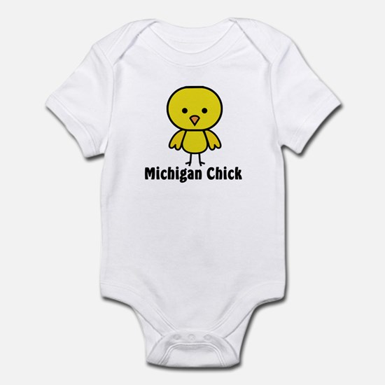 Michigan Chick Infant Bodysuit