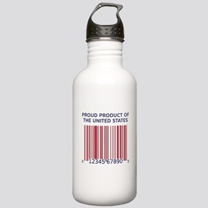 Product Of U.S. Barcode Stainless Water Bottle 1.0