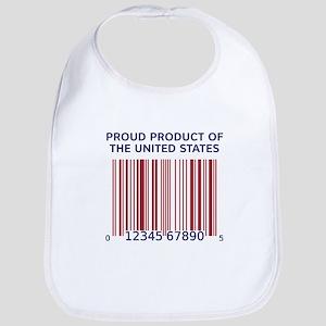 Product Of U.S. Barcode Bib