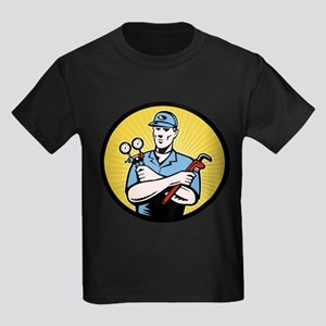 ac serviceman repairman Kids Dark T-Shirt