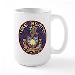 USS BEATTY Large Mug