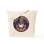 USS BEATTY Tote Bag
