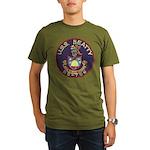 USS BEATTY Organic Men's T-Shirt (dark)