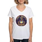 USS BEATTY Women's V-Neck T-Shirt