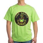 USS BEATTY Green T-Shirt