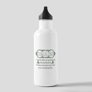 Dear IRS Stainless Water Bottle 1.0L