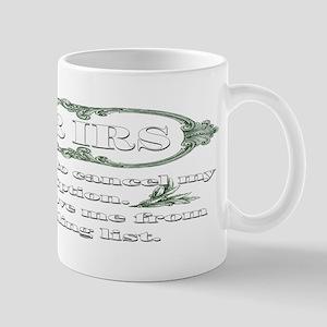 Dear IRS Mug