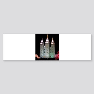 SLC Temple Sticker (Bumper)