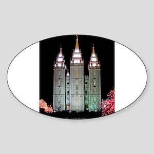 SLC Temple Sticker (Oval)