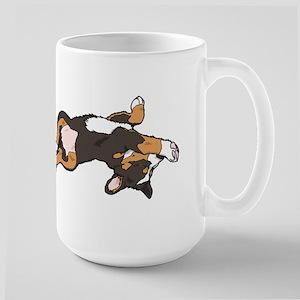 Sleeping Bernese Mountain Dog Large Mug
