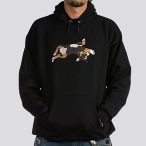 Sleeping Bernese Mountain Dog Hoodie (dark)