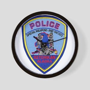 Ketchikan Police SWAT Wall Clock