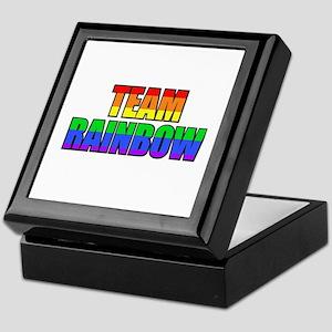 Team Rainbow Keepsake Box