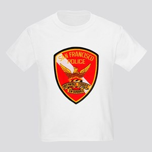 San Francisco Police Dive Tea Kids Light T-Shirt