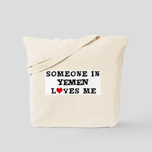 Someone in Yemen Tote Bag