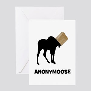 Anonymoose Greeting Card