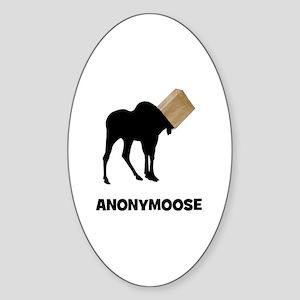 Anonymoose Sticker (Oval)