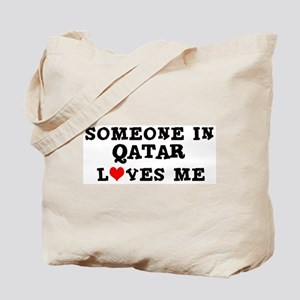 Someone in Qatar Tote Bag