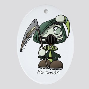 Mortarion Ornament (Oval)