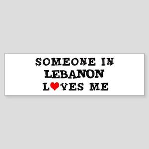 Someone in Lebanon Bumper Sticker