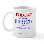 Free Speech Support Mug