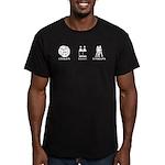 CB&L logo Men's Fitted T-Shirt (dark)