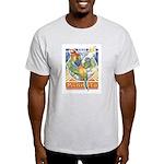 A Parrot's World Ash Grey T-Shirt
