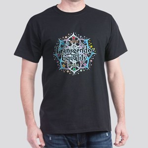 Transgender Lotus Dark T-Shirt