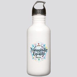 Transgender Lotus Stainless Water Bottle 1.0L