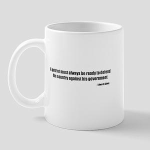 Defend Quote Mug