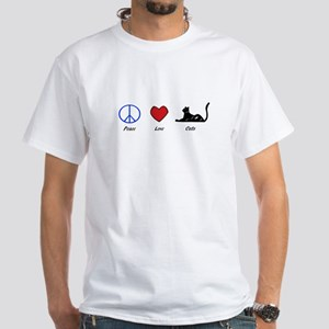 PLC White T-Shirt
