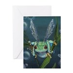Wishing Frog Greeting Card