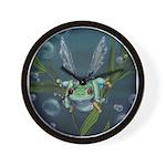 Wishing Frog Wall Clock