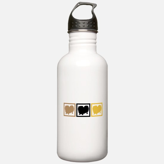 Pekingese Water Bottle