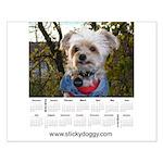 Sticky's 2020 Calendar - Small Poster