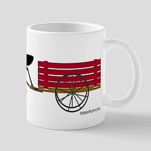 Newfoundland Pulling Cart Mug