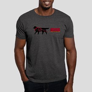 Newfoundland Pulling Cart Dark T-Shirt