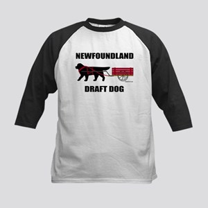 Newfoundland Draft Dog Kids Baseball Jersey