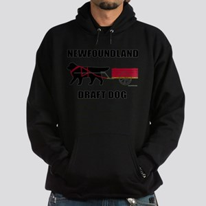 Newfoundland Draft Dog Hoodie (dark)