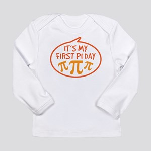Baby's First Pi Day Long Sleeve Infant T-Shirt